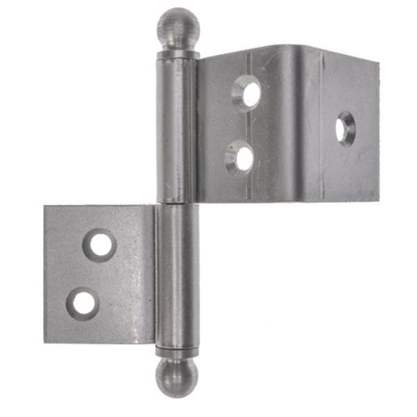 Franskt gångjärn för dörr, 90 mm