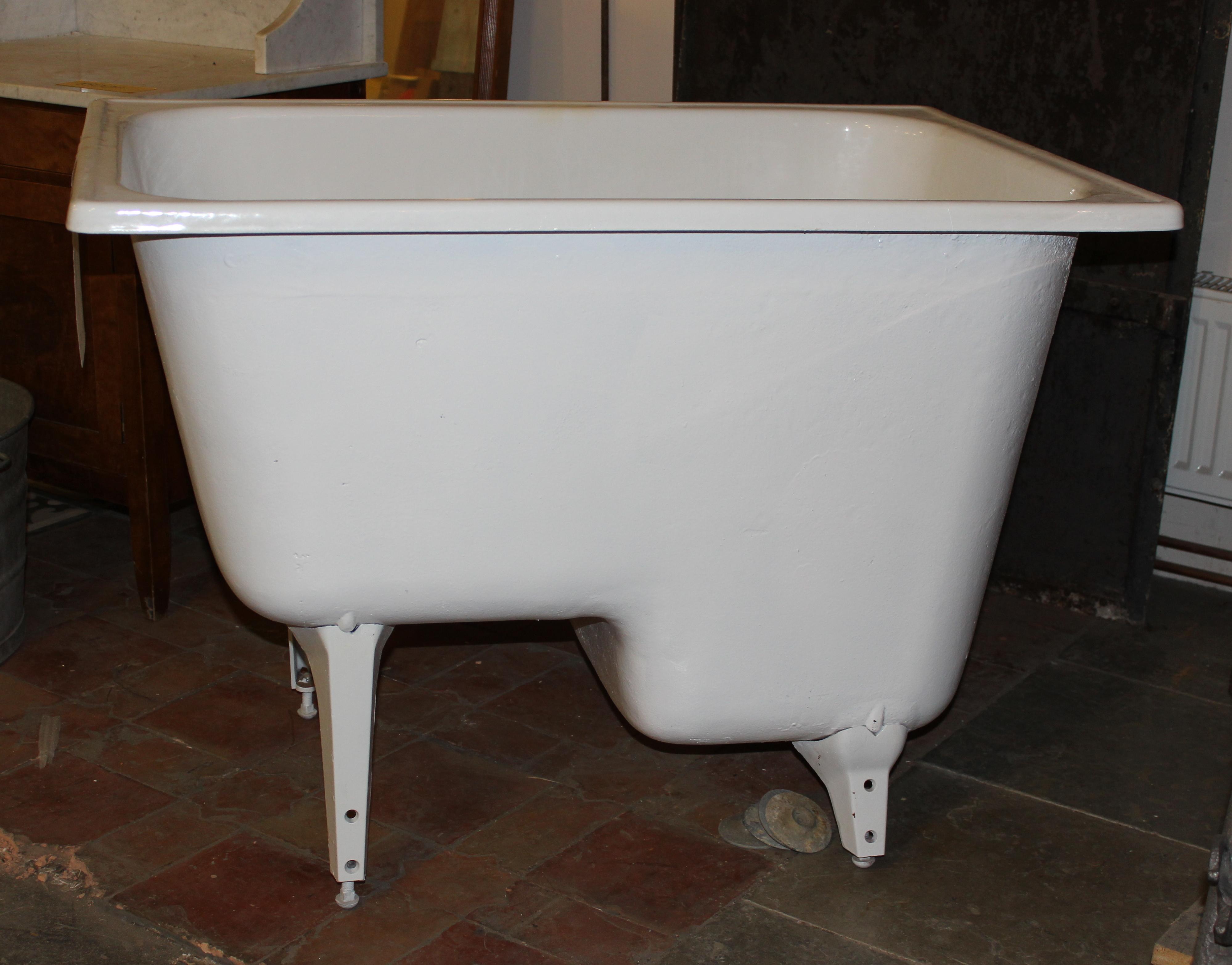 begagnade sittbadkar med dörr