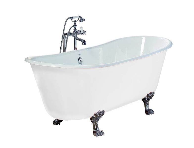 badkar med tassar 170