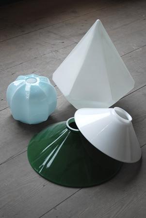 glaskupor till gamla lampor