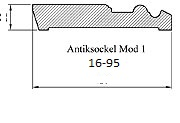 Antiksockel 16-95