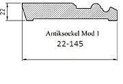 Antiksockel 22-145